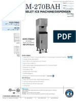 DCM270BAH Hoshiszaki Ice Machine Use_Care Manual