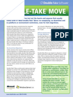 Double Take Move Datasheet