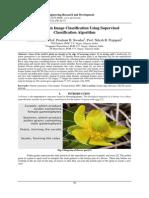 Flower Grain Image Classification Using Supervised Classification Algorithm