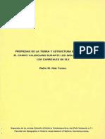 Propiedad de La Tierra y Estructura de Clases en Pais Valenciano