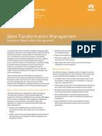 Sales Transformation Management