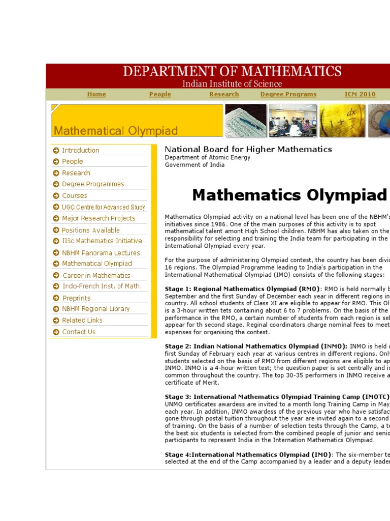 Ino | Academia | Mathematics