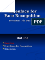 Eigenface for Face Recognition
