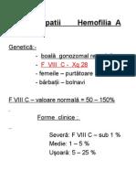 Artropatia hemofilica