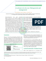 A Review on Recent Advances in Dry Eye Pathogenesis And