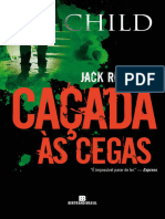Cacada as Cegas - Lee Child