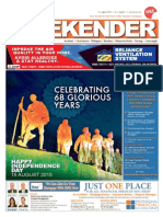 Indian Weekender 14 August 2015