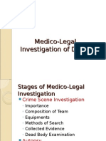 Medico-Legal Investigation of Death