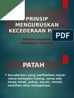 KECEDERAAN PATAH