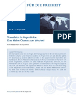 Vorwahlen in Argentinien