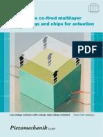 Piezomechanik Multilayer Katalog E WEB 1 2014-04-27