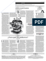 Cultura Política Peruana