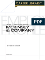 Vault Employer Profile - McKinsey & Company
