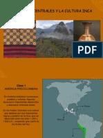 Andes Centrales y Cultura Inca