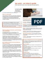Making Internships Work Interns Guide