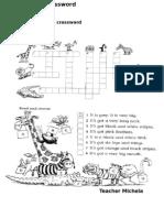 Wild Animals Crossword