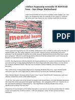 Calif mental health dollars bypassing mentally ill HANNAH DREIER, Assciatd Press - San Diego Motherhood