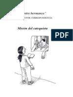 01 - Mision Del Catequista