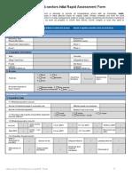 Initial Rapid Assessment Form OCHA 06Aug2015
