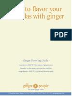 Ginger Ingredients