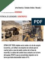 Accidente Camion Perforadora