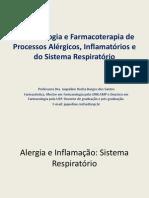 Fisiopatologia Alergia Inflamação e  Asma