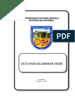 Guia Para Elaborar Tesis UNAMBA 2014