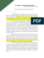 Módulo 1 - O Arquivo e a Informação Arquivística