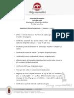 Requisitos Práctica Formativa