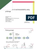 J_Rautio_2012_Improvement of Oral Bioavailability Using Prodrugs