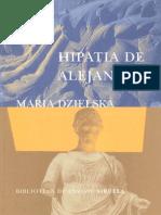 Dzielska Maria - Hipatia de Alejandria