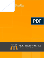 PT. Mitra Informatika - Company Profile