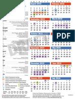 calendar 15 16 color