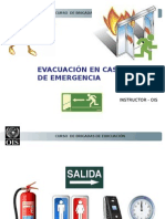 Evacuacion en Caso de Emergencia NEPTUNIA