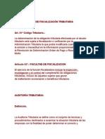 Procedimiento de Fiscalización Tributaria