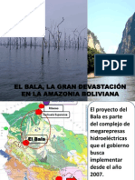EL BALA, LA GRAN DEVASTACIÓN EN LA AMAZONIA BOLIVIANA