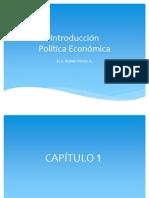Politica Economica Capitulos 1 2 y 3
