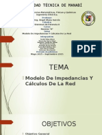 Exposicion Modelos de Impedancias y Calculos de Red