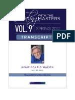 HWTM v9 26 Neale Donald Walsch 05-22-12
