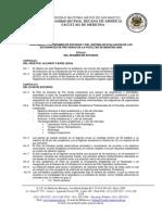 Reglamento de La Facultad de Medicina Humana-evaluaciones