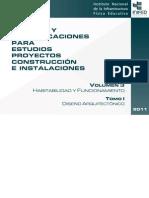 Volumen 3 Tomo I Diseno Arquitectonico INFRA EDUCATIVA MEXICO-libre