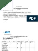 Lista de Cotejo Plan de Area 1.6 IE Sabaneta - Betulia