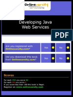 Developing Java Web Services_INTL