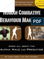 Human Combative Behavior ManifestoV2