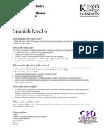 Spanish 6