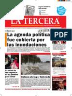 Diario La Tercera 13.07.2015