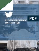Customer Service on Twitter Playbook