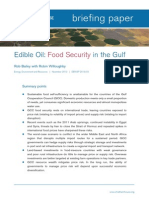Chatham. Food Security in the Gulf