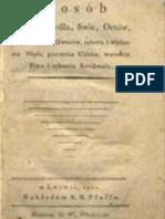 Sposób robienia mydła, swic, octów, przyprawiania owoców, solenia i wędzenia mięsa, pieczenia chleba, warzenia piwa i robienia krochmalu (1801)