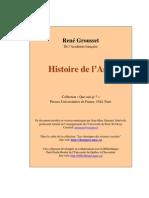 Grousset Histoire Asie
